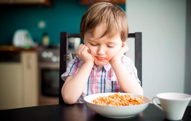 Mi hijo no quiere comer